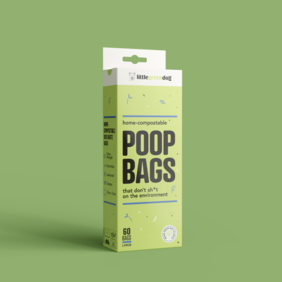 60 pack Compostable Doggy Doo bags